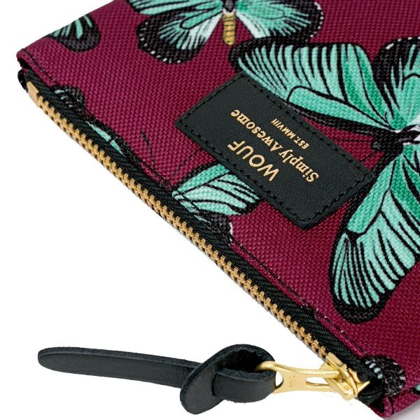 wouf small pouch butterfly 3