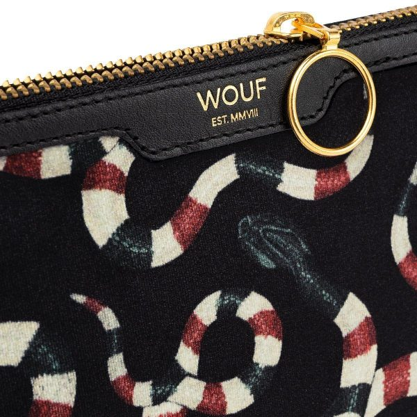 Wouf Snakes Pocket Clutch 3
