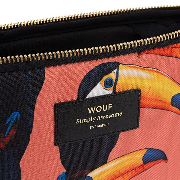 Wouf Toco Toucan Laptophoes 13 inch detail