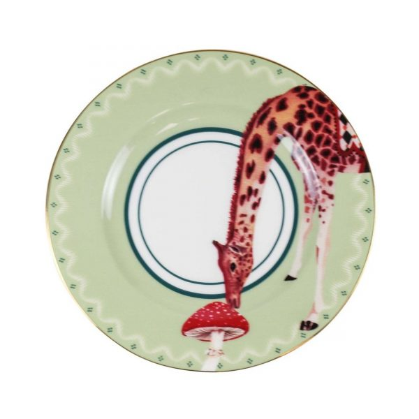 Yvonne Ellen Carnival Animal Cake Plates Giraffe