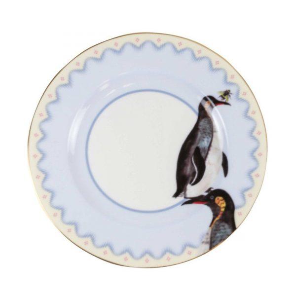 Yvonne Ellen Carnival Animal Cake Plates Pinquin