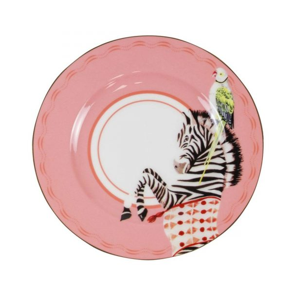 Yvonne Ellen Carnival Animal Cake Plates Zebra
