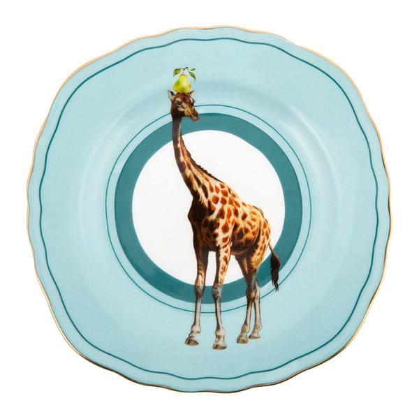 Yvonne Ellen Giraffe Cake Plate