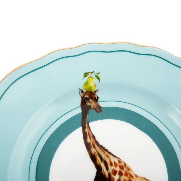 Yvonne Ellen Giraffe Cake Plate detail