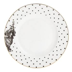 Yvonne Ellen Party Pup Side Plate Mono