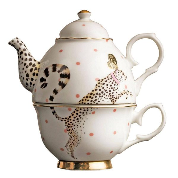 Yvonne Ellen Tea-For-One Theepot Cheetah 900 ml
